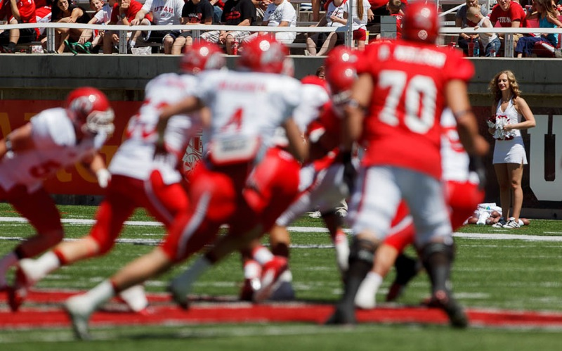 Utah Red and White football game Saturday, April 21, 2012 in Salt Lake City, Utah