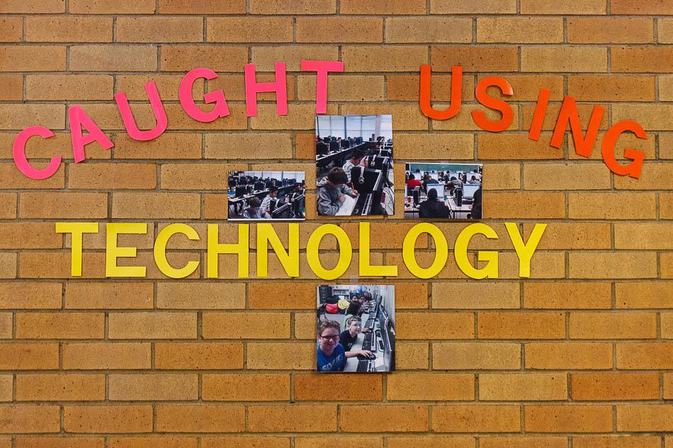 caught using technology