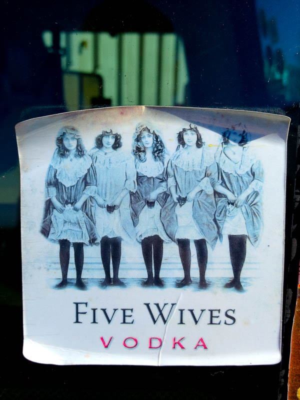five wives vodka