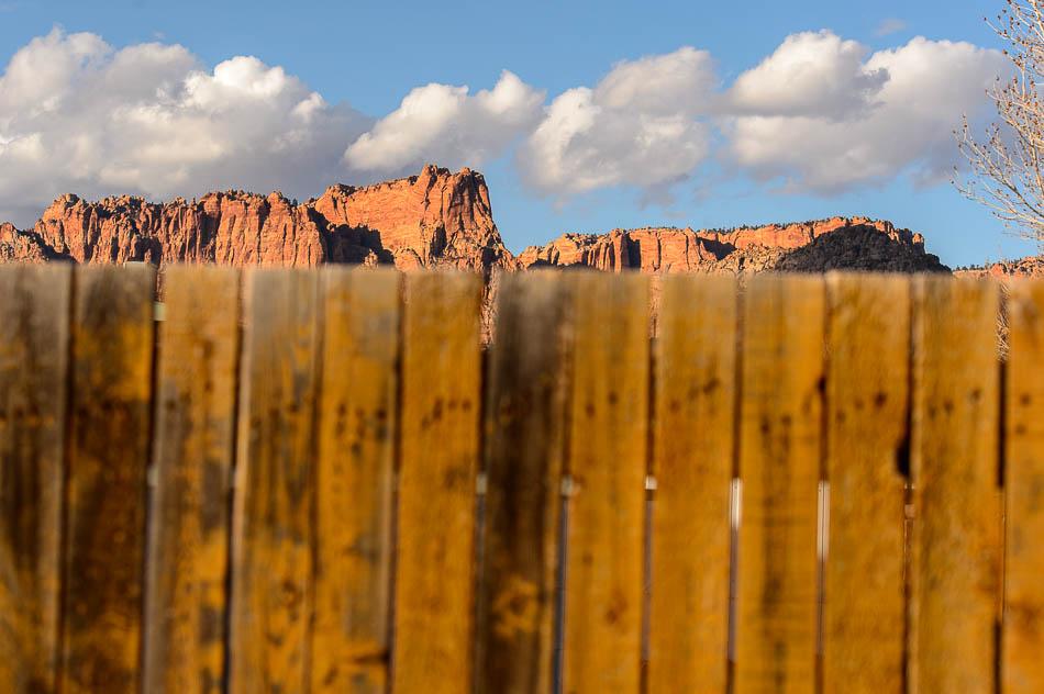 Fence & Vermillion Cliffs, Colorado City