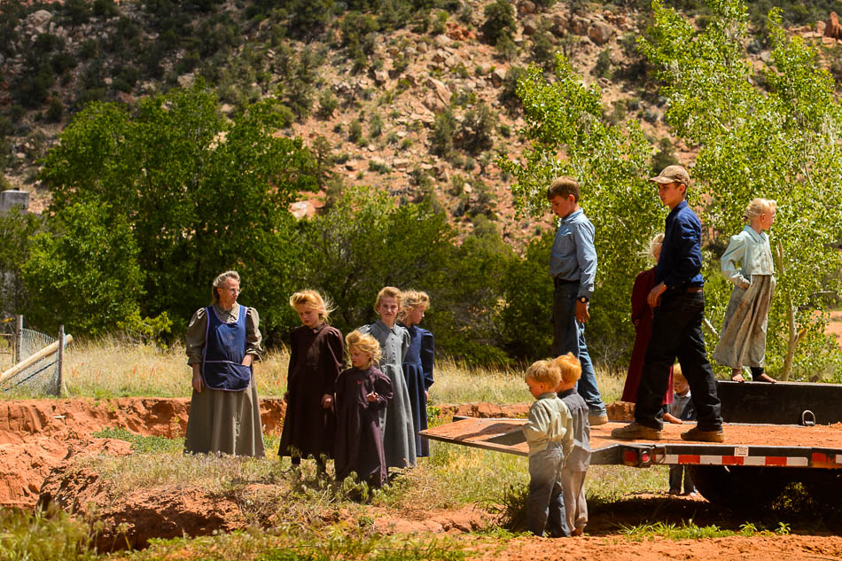 FLDS children in Hildale, Utah