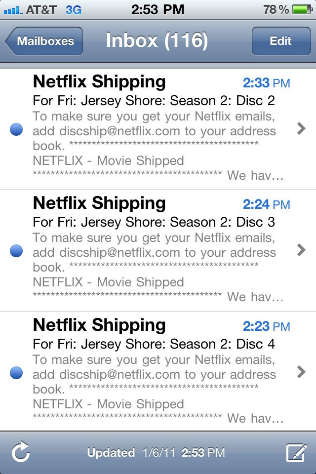 Today's Netflix